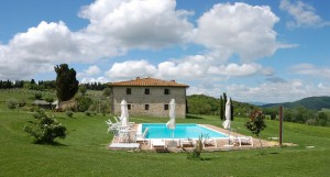 Tuscany villa pool rental