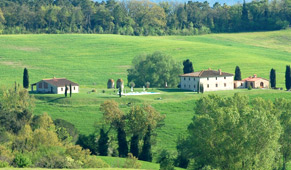 panoramic villa in tuscant with pool