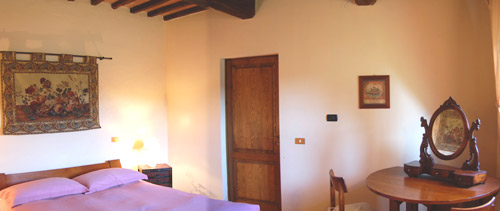 room of the villa