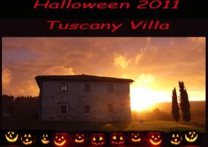 Rent Villa tuscany halloween party