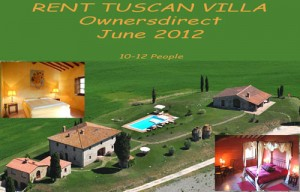 Tuscan villa june owners direct