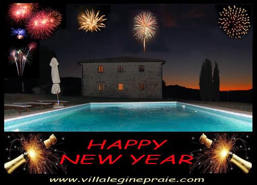 Villa in Tuscany Happy new year