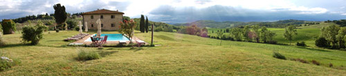 rent villas with pool in tuscany