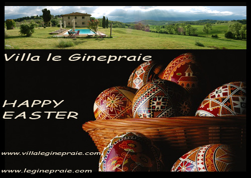 Easter Rent villa in Tuscany