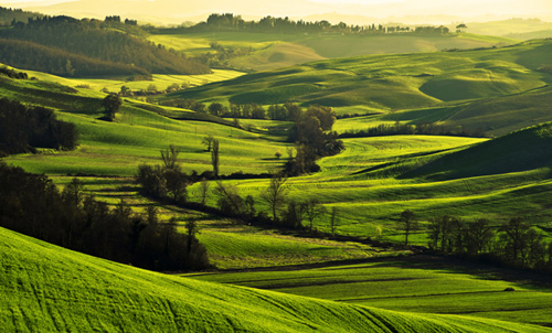 Tuscany pictures of Crete Senesi