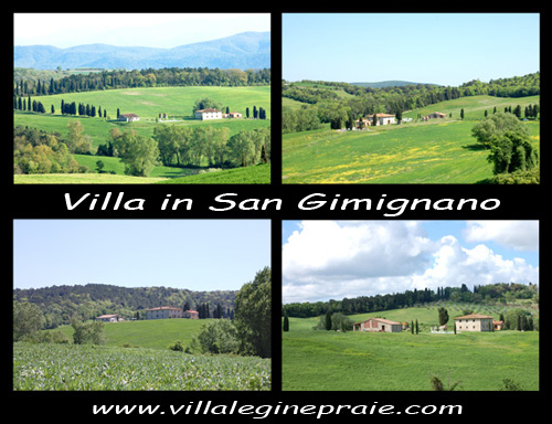 Rent Villa in San Gimignano