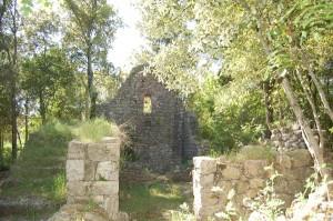 ruins of castelvecchio San Gimignano