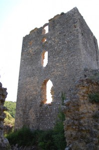 tower of castelvecchio near San Gimignano