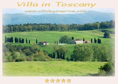 5 stars Villa in Tuscany pool
