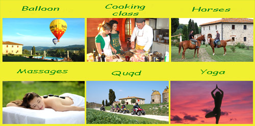 leisure in tuscany villa april