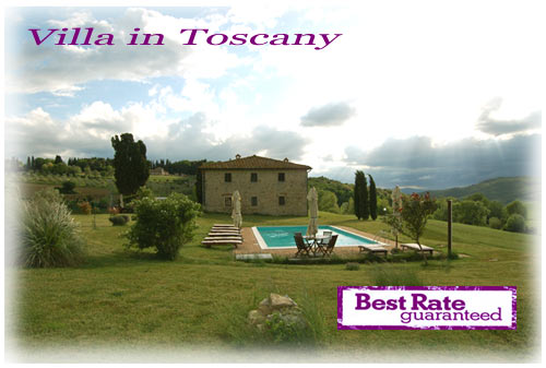 Rent Tuscany Villa Best rate guaranteed