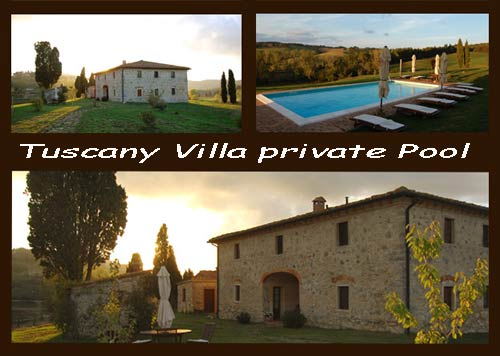 Villa in Tuscany private pool