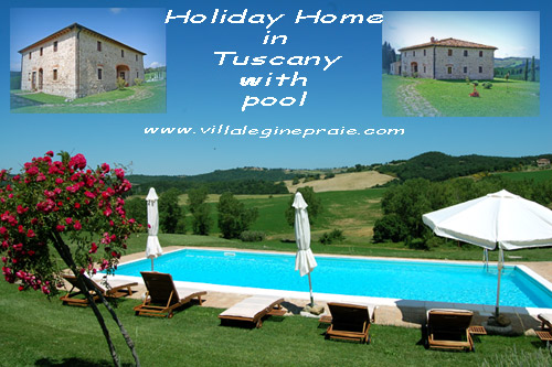 Rent Holiday Home with pool in Tuscany
