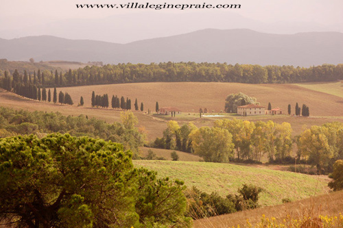 Photo of Tuscany Villa in Autumn time