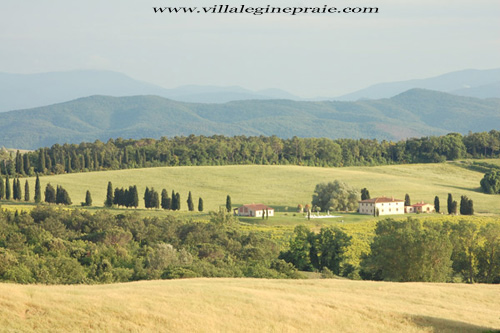 Photo of Tuscan Villa in Summer Time