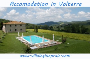 Holiday Villa accomodation Volterra