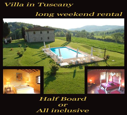 Villa In Tuscany Long Weekend Rental Villa In Tuscany