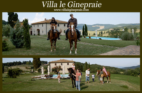 Farmhouse with riding school in Tuscany