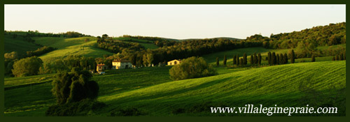 rent tuscan villa weekend