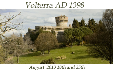 Volterra august 2013 18th and 25 th