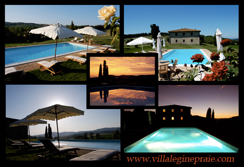 Villa in Tuscany rent with panoramic pool