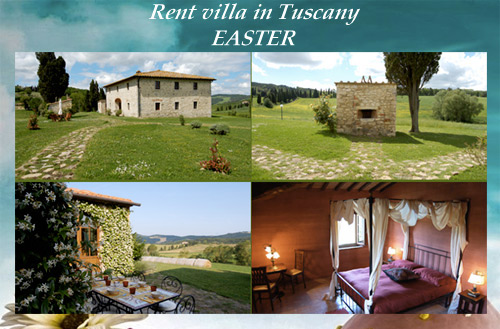 rent villa in tuscany easter holiday