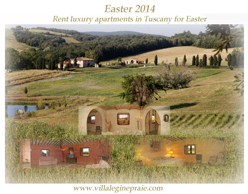 rent apartment in tuscany easter 2014