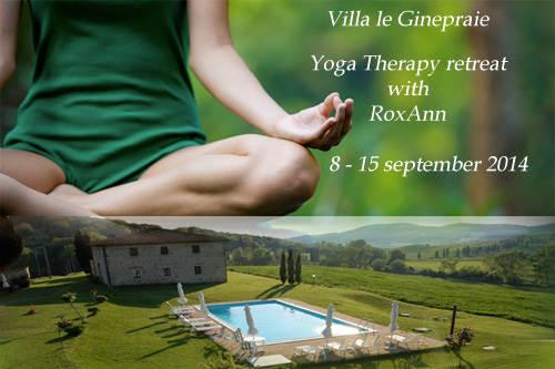 yoga retrat in Tuscany in S