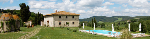 Rent Villa apartment in may Between Volterra and San Gimignano
