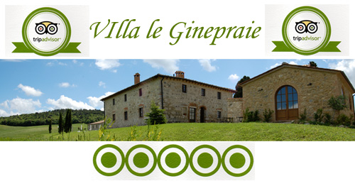 review tripadvisor villa in Tuscany