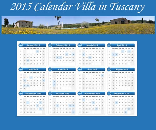 prices 2015 villa in tuscany