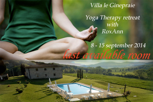 Yoga retreat between Volterra and San Gimignano