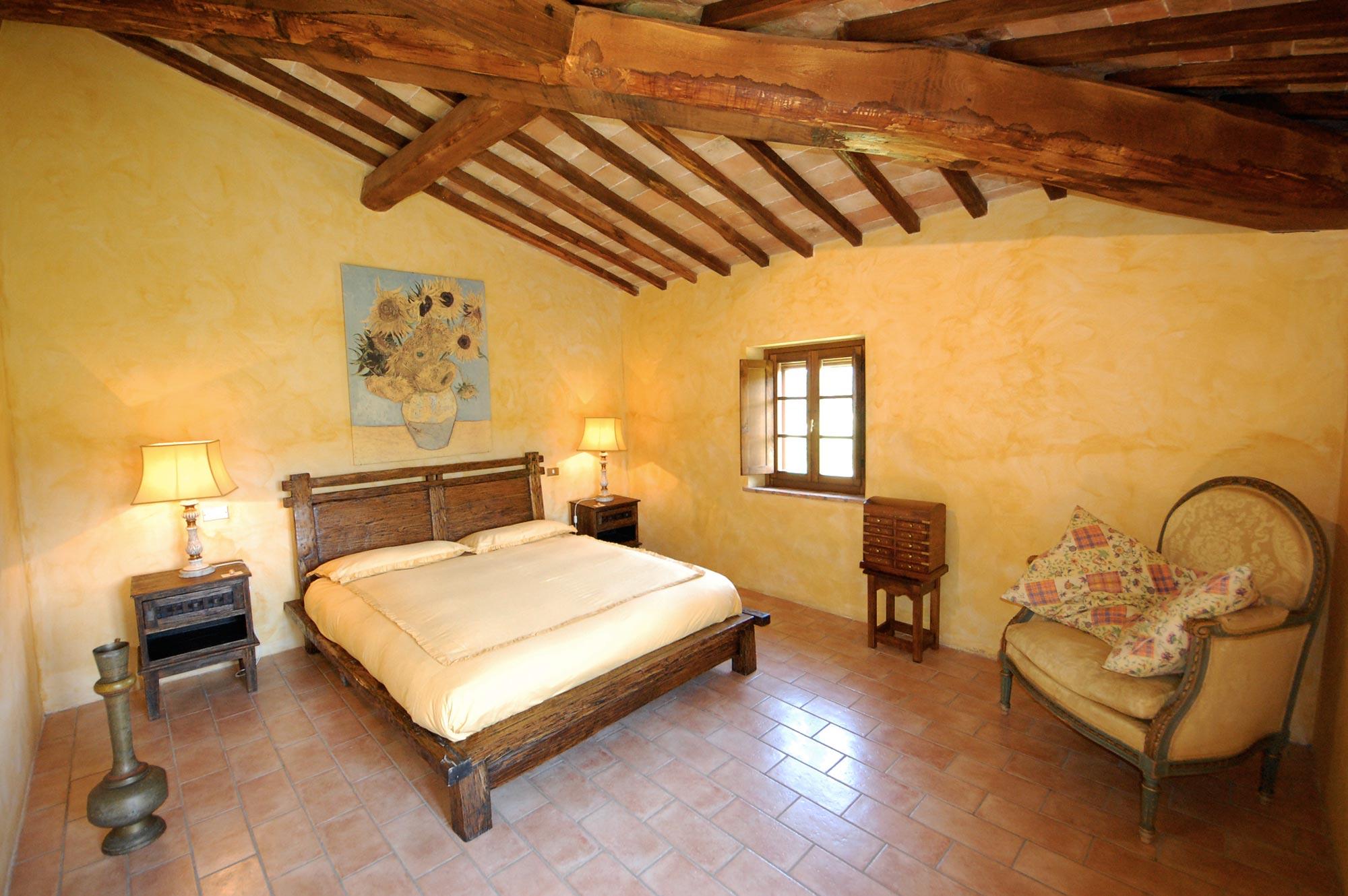 letto-della-villa-in-toscana