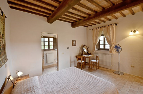 the room of villa toscana