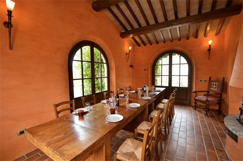 tuscan restaurant of ours villa