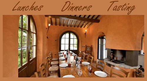 Villa in Tuscany lunches, dinners and tasting