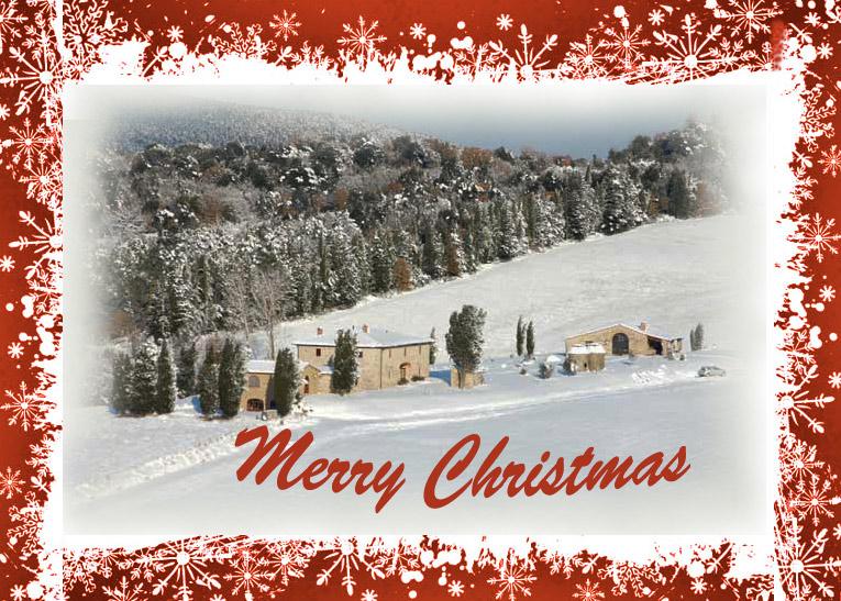 merry christmas tuscany villa