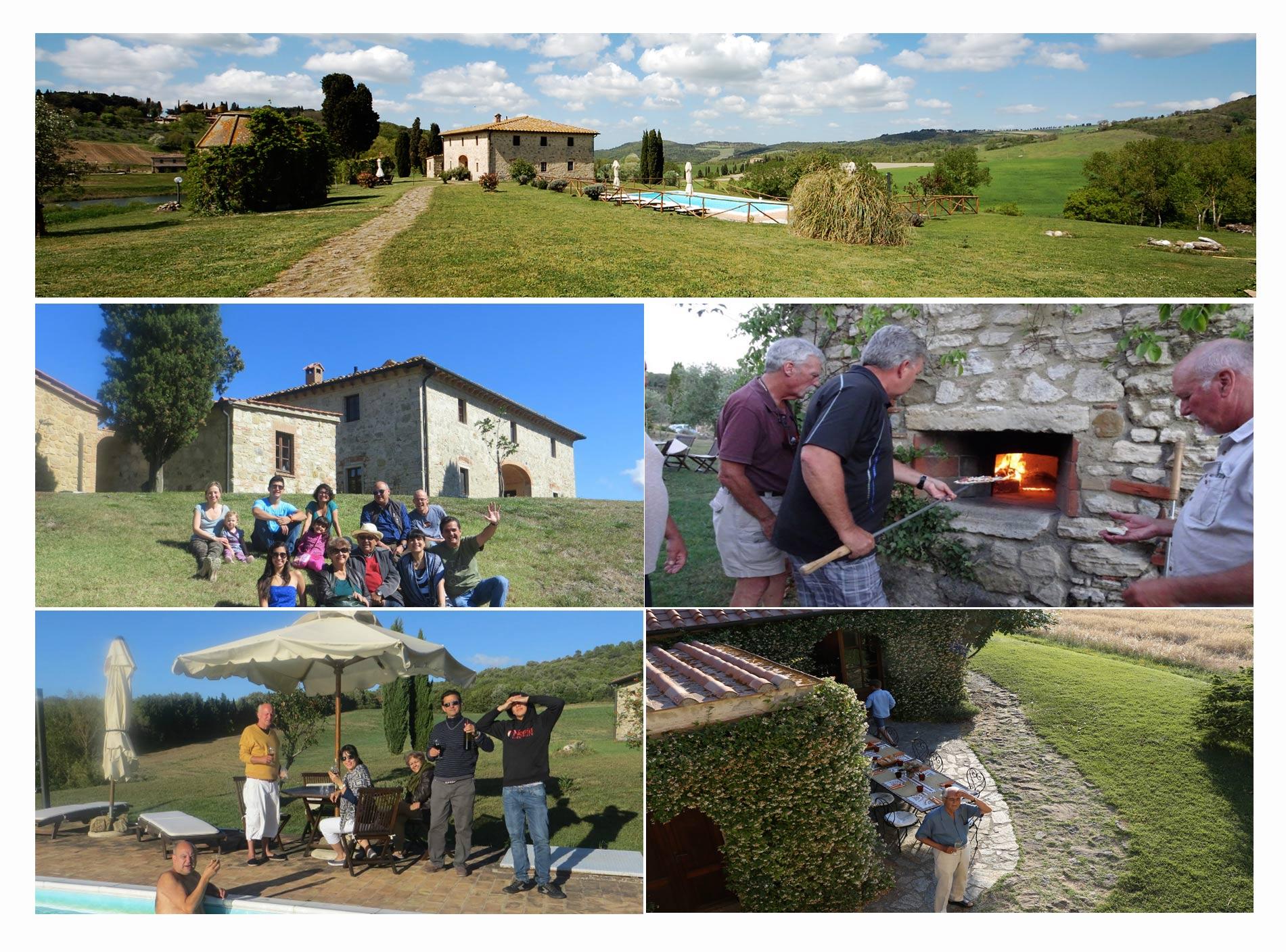 villa family tuscany