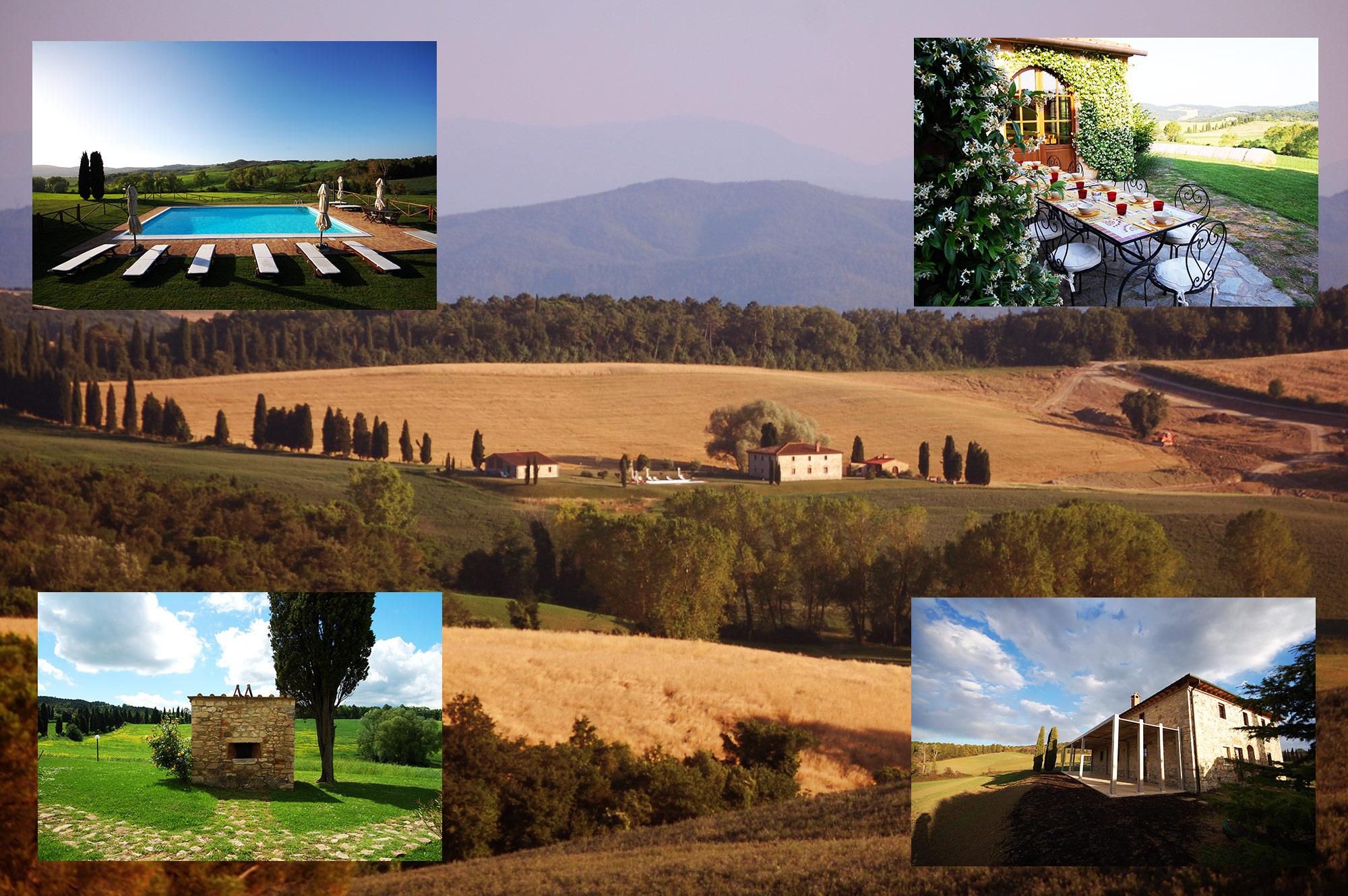 Villa tuscany garden