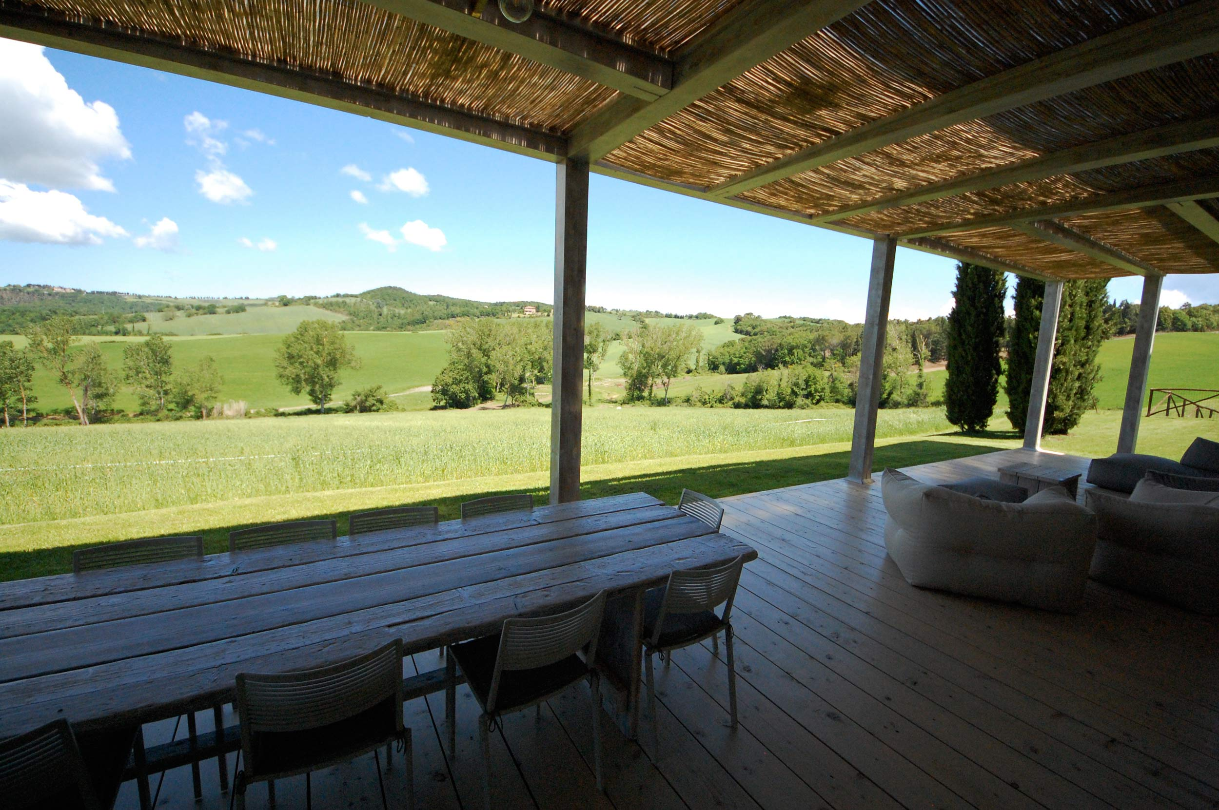 tuscan veranda