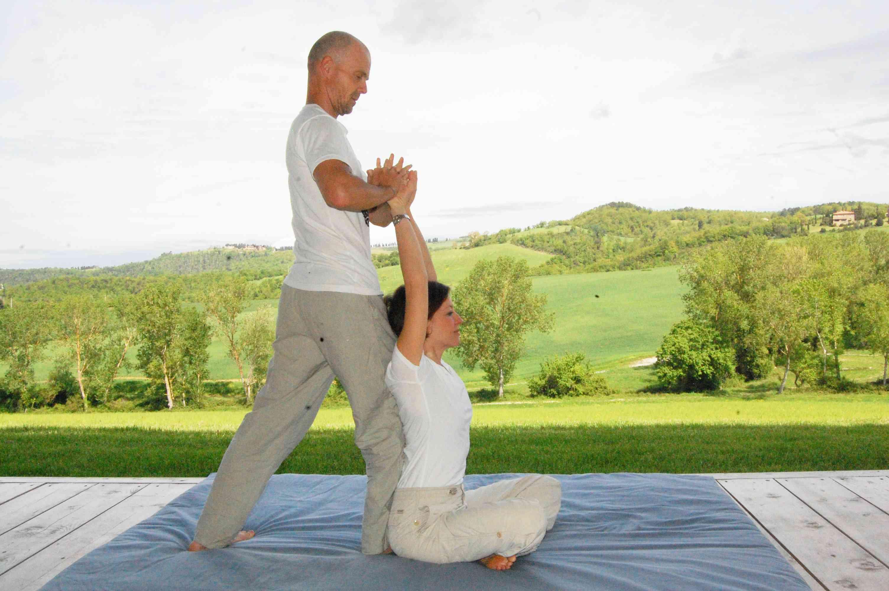 energizing thai massage