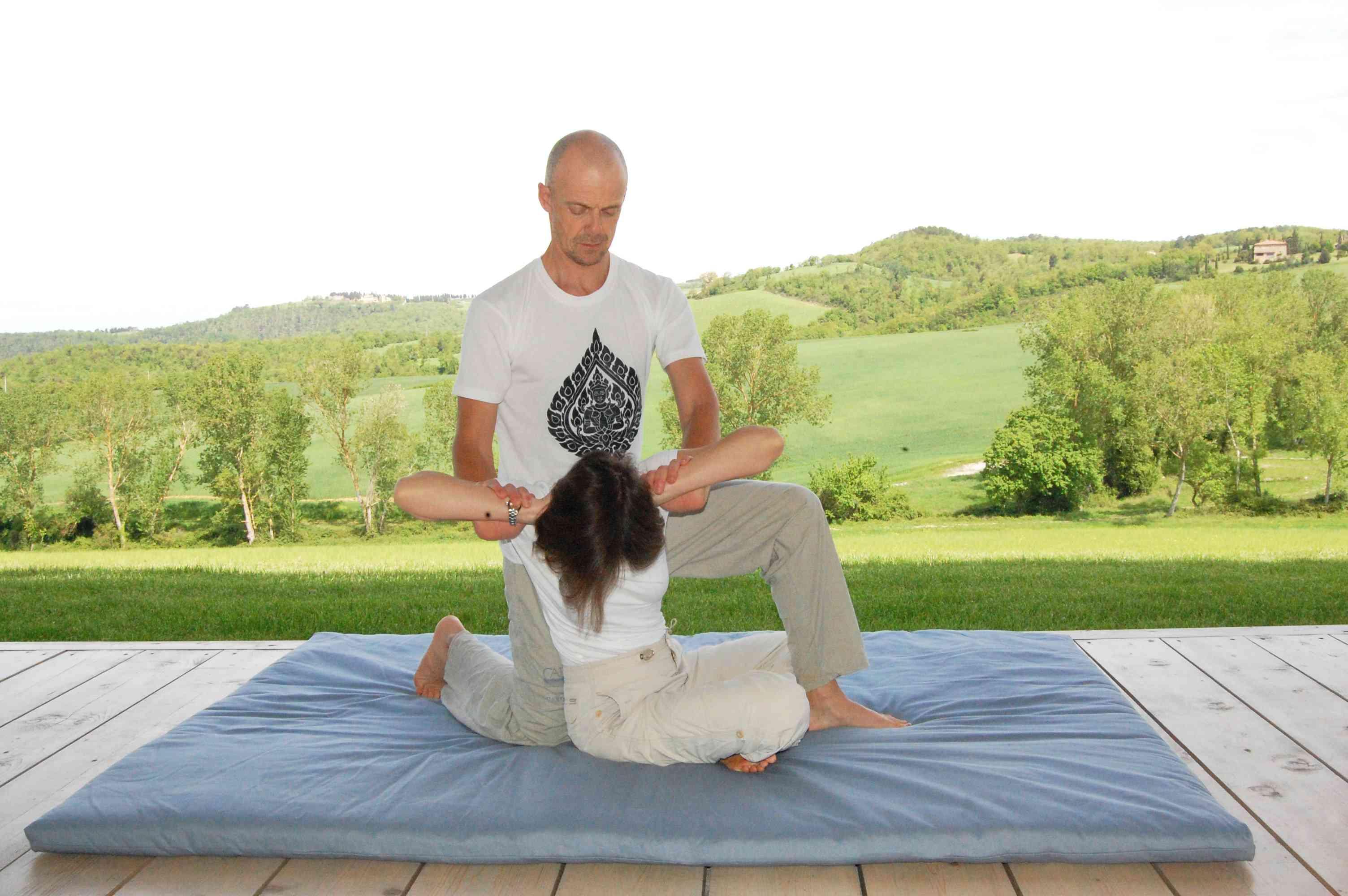 thai massages in villa