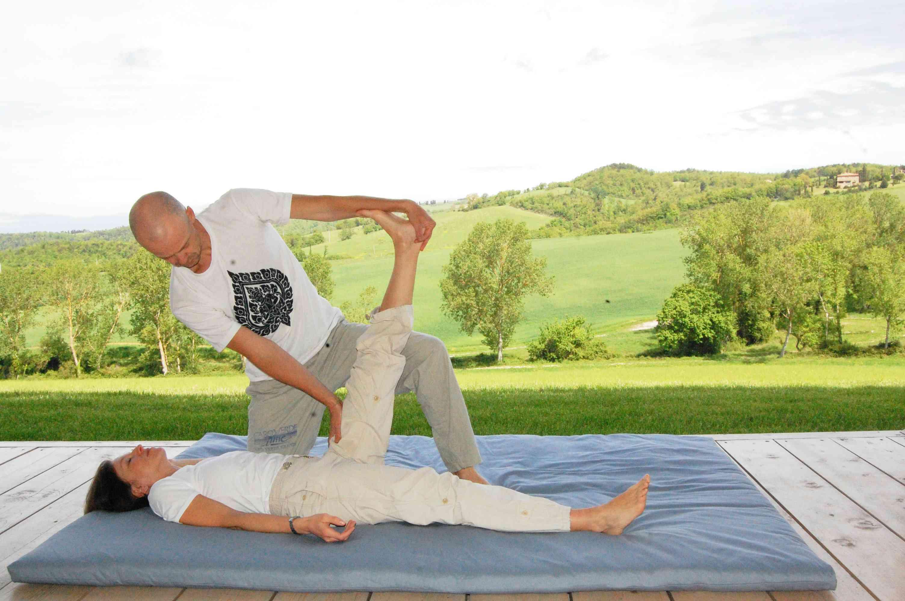 villa with thai massage service