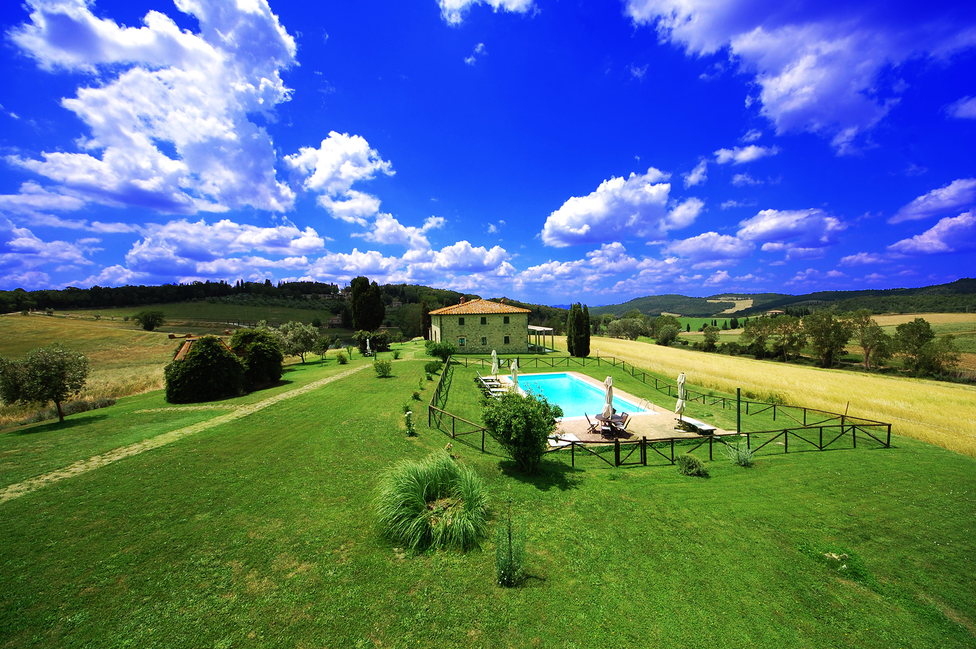 rent tuscany villa private pool total privacy