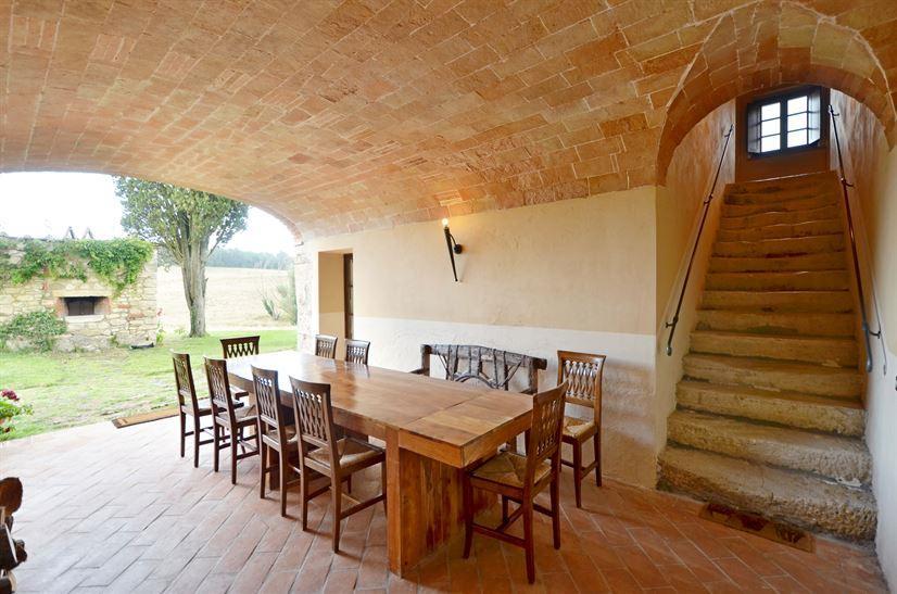 Loggia tuscany villa rent