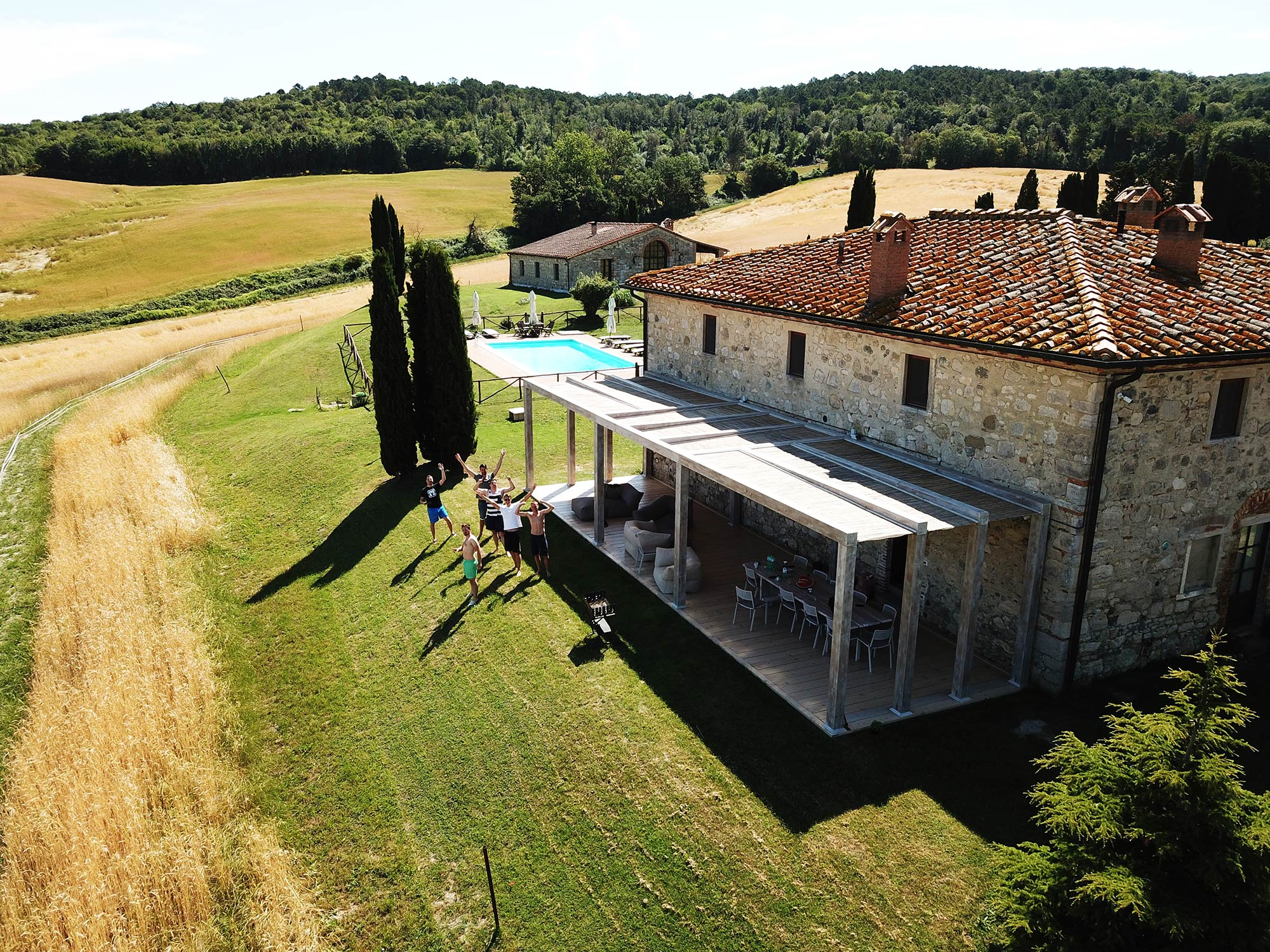 villa in tuscany for groups