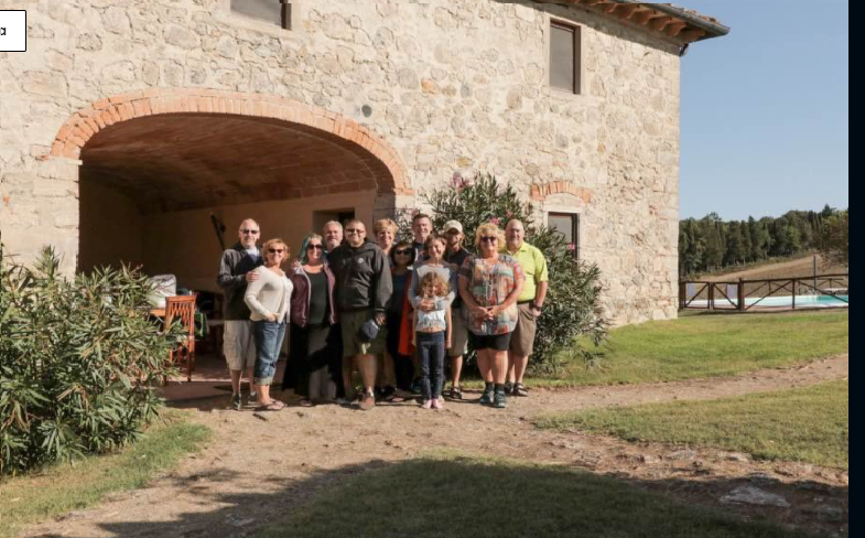 villa tuscany groups 10 people