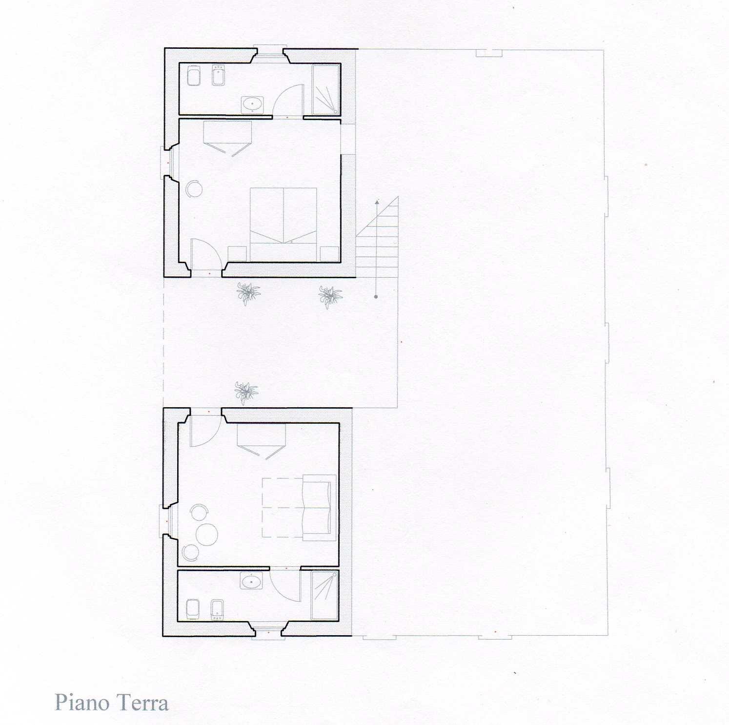 villa volterra gruond floor map