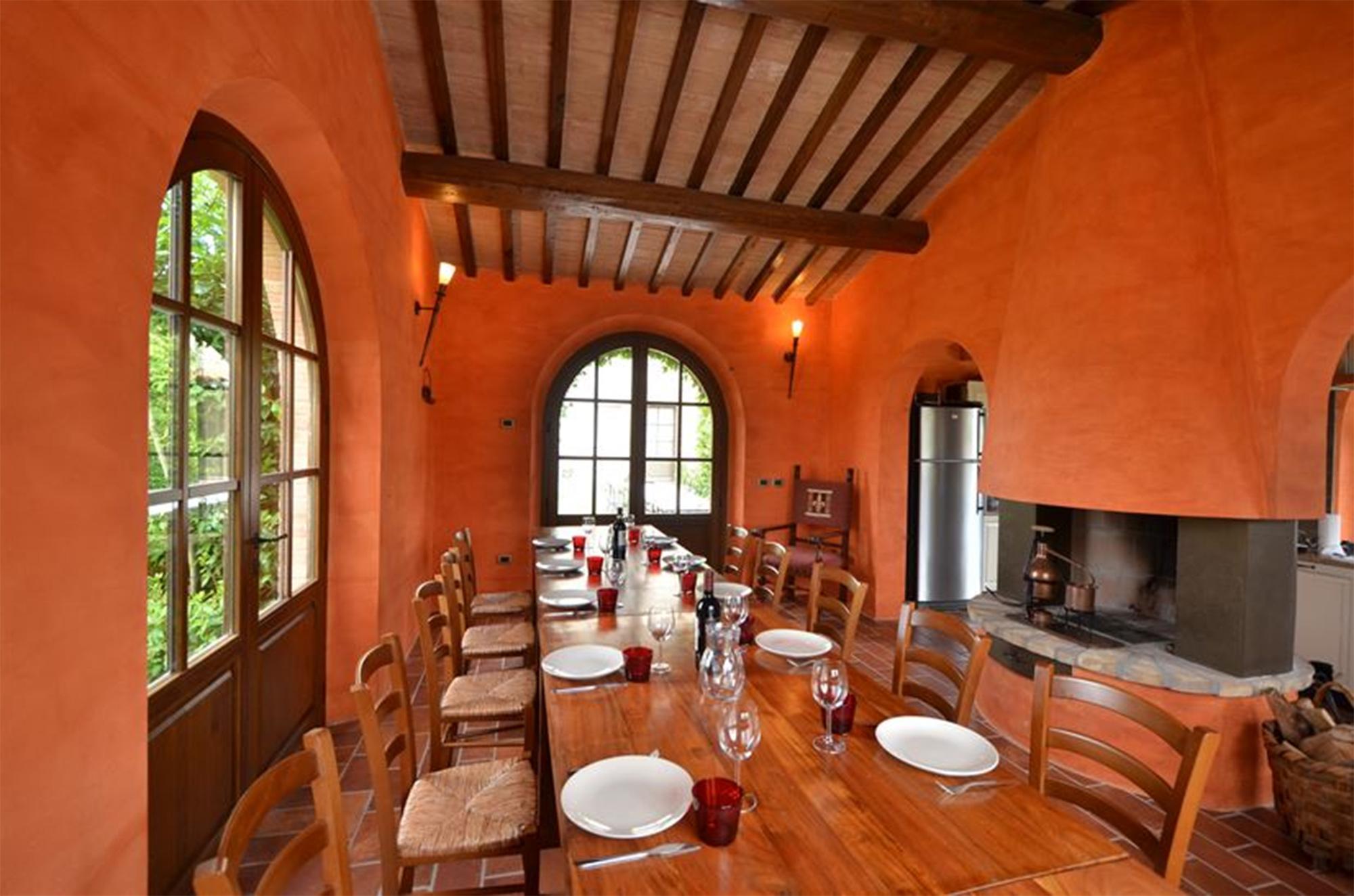 villa tuscany private restaurant